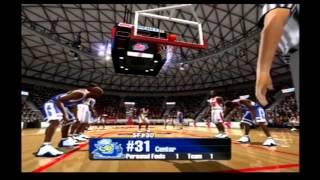 NCAA March Madness 2005 Rice vs Houston Retro Gameplay