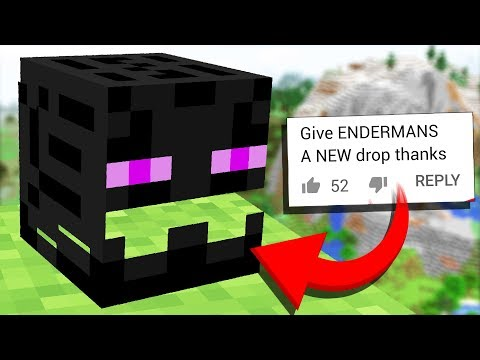 We made an Update to Minecraft ENDERMAN (Crafting Recipe Comments #11)