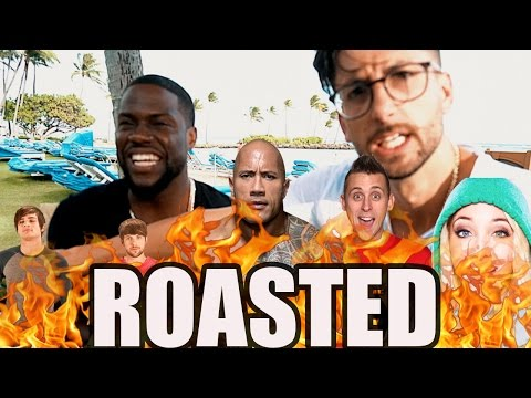 Thumbnail: KEVIN HART ROAST YOUTUBERS & THE ROCK