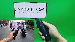 Test RUNNING With ZHIYUN SMOOTH Q2