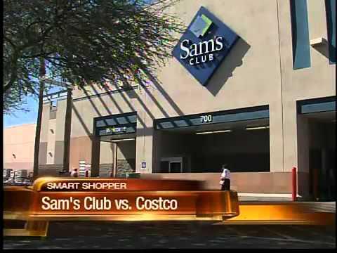 Grocery price comparison at Sam's Club and Costco