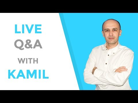 Q & A with Kamil - ask me anything ;-