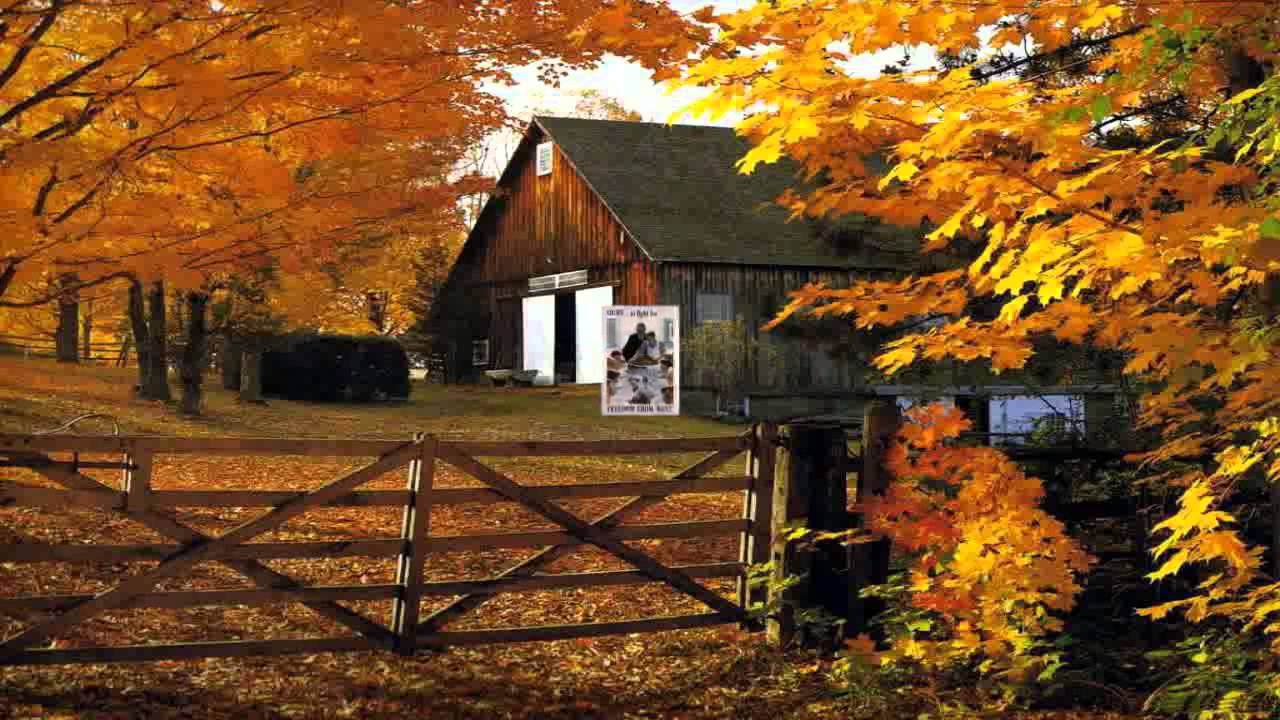 Fall Scene Desktop Wallpaper Bless This House Perry Como Hd Youtube
