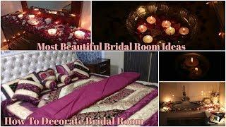 Beautiful Bridal Room Decoration Ideas  Tutorial   How To Decorate Bridal Room   Mahnoor Rizvi.