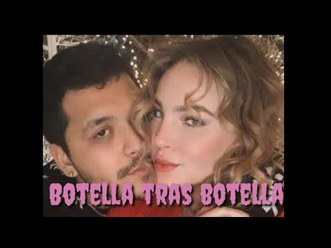 Belinda y Cristian Nodal cantando botella tras botella 🍾