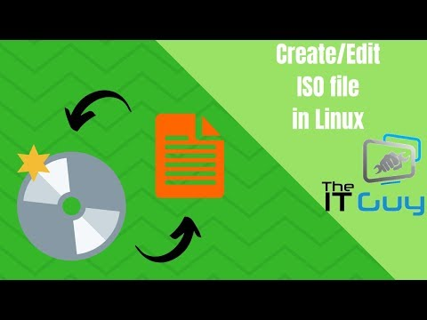 Create And Edit An ISO File In Linux (mkisofs)