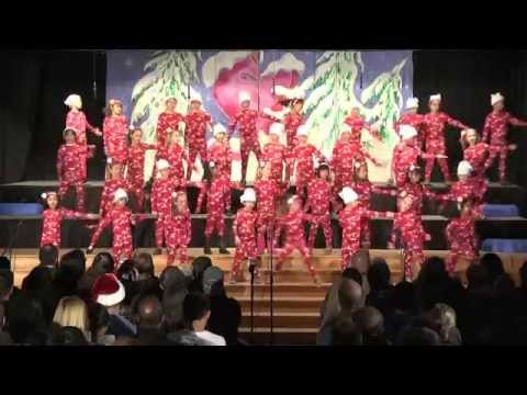 2014 Mission Bay Montessori Academy Christmas Show: Highlights