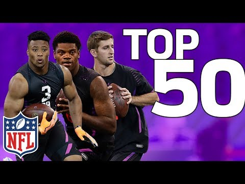 Top 50 NFL Prospects Post Combine | NFL Highlights