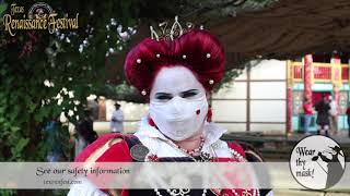 Texas Renaissance Festival 2020 Social Distancing and Safety