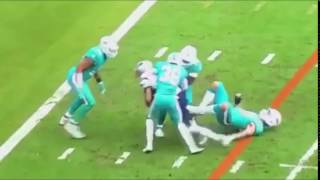Michael Floyd Refuses to Be Tackled Muscles Through Dolphins Defense for TD