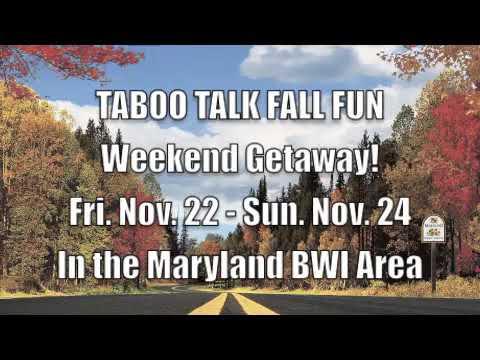 Taboo Talk Weekend Baltimore 2019