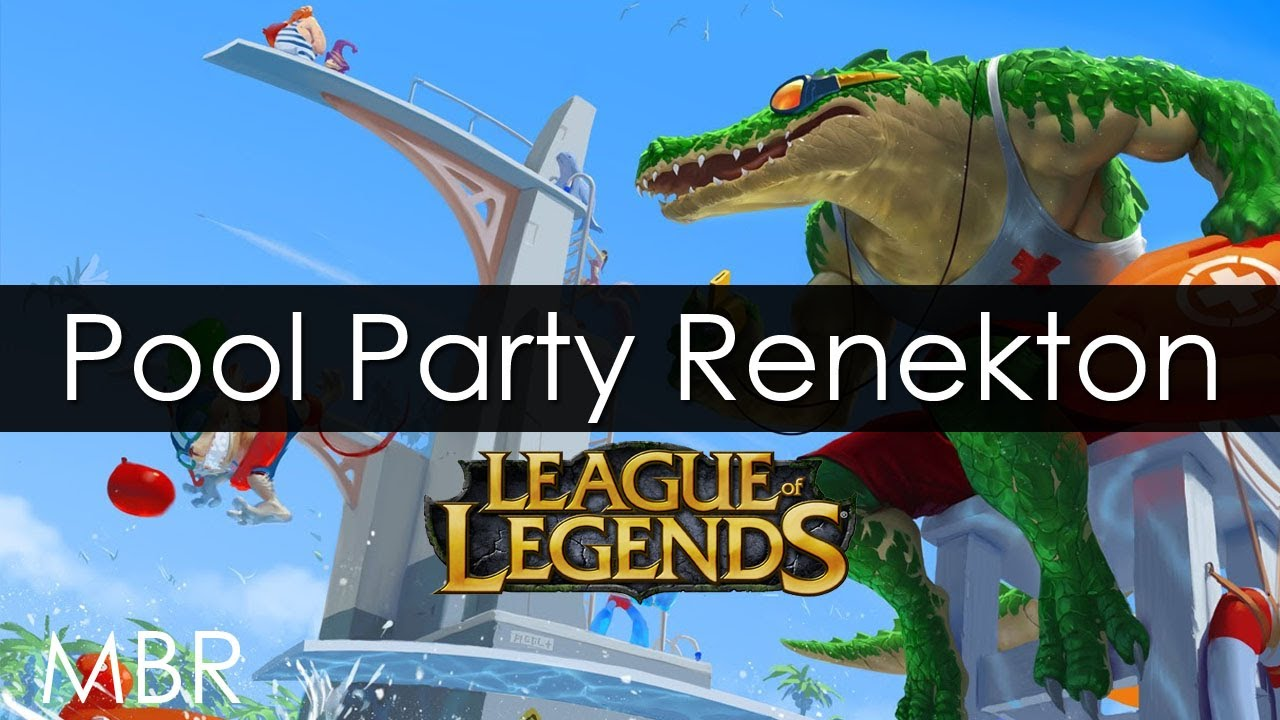 League of Legends - Pool Party Renekton - HD - YouTube