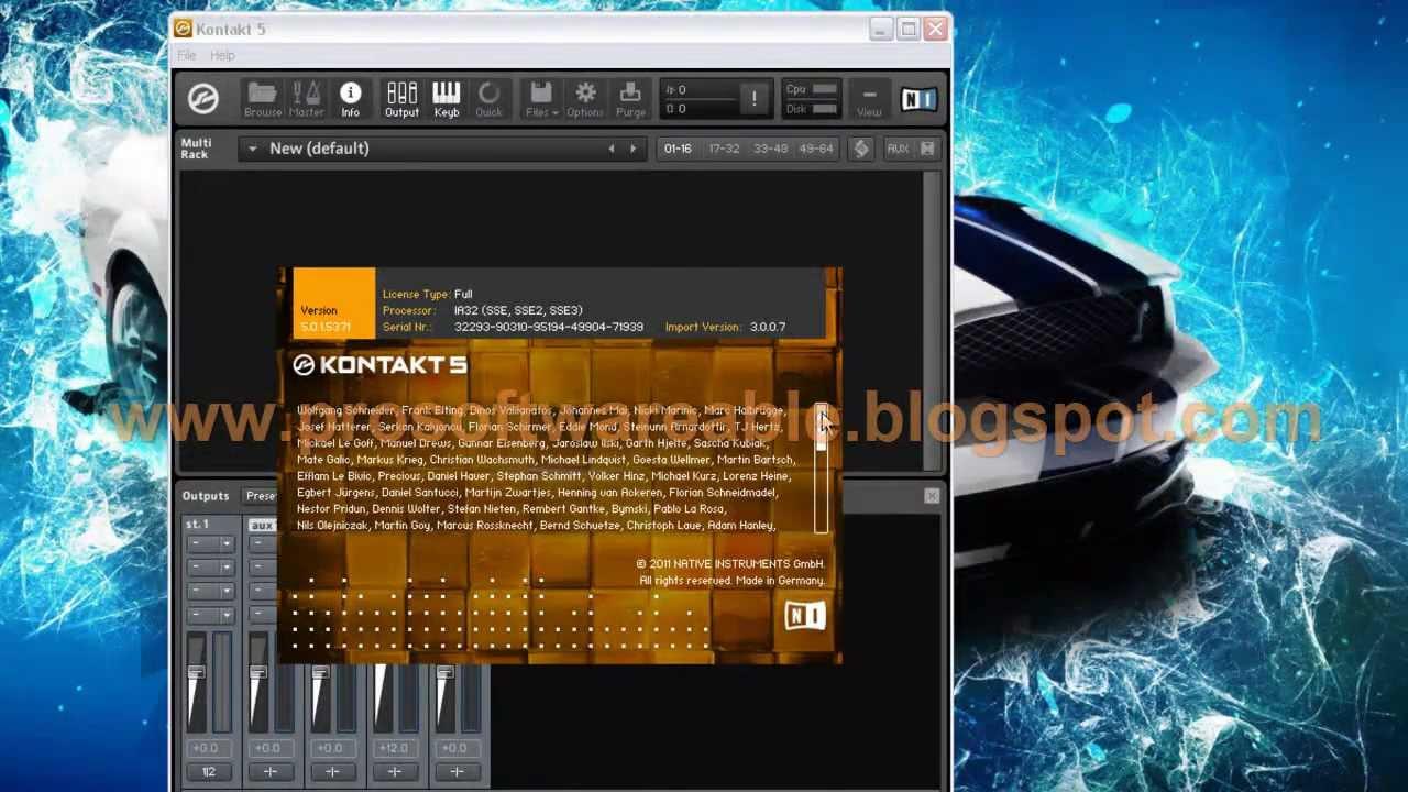 Kontakt 5 factory content mac