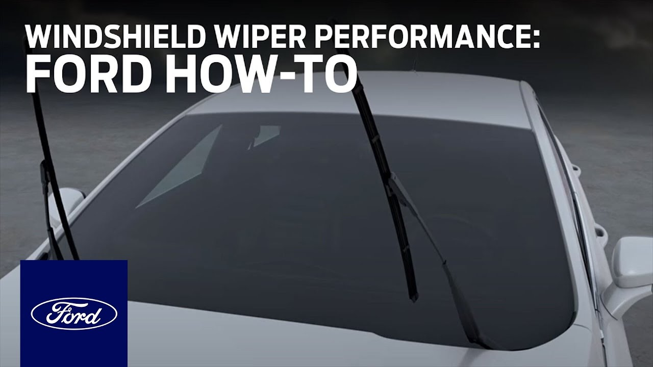 Improve Your Windshield Wiper Performance Ford