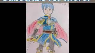Marth (Fire Emblem) Speed-Draw | EightDevilKids