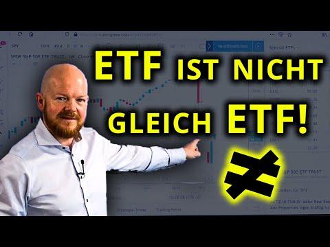 ETF ist nicht gleich ETF! I Jens Rabe