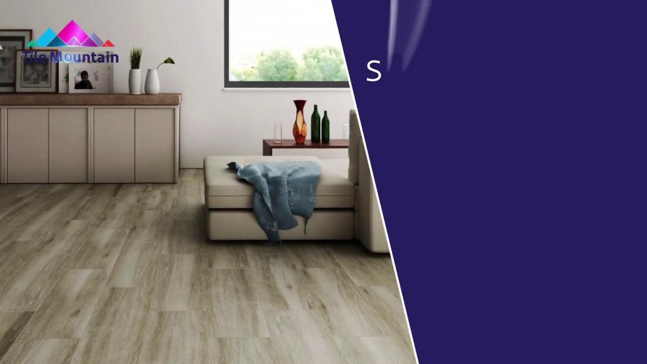 Sandalo Taupe Natural Wood Effect Floor Tile Floor Tiles From Tile Mountain