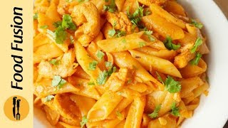Tandoori Chicken Pasta Recipe By Food Fusion