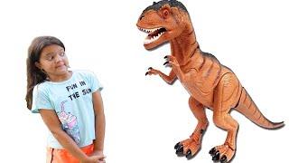 Masal Dinosaur Surprise Egg Hunt  Dinosaurs for Kids