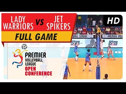 Lady Warriors vs. Jet Spikers | WV Full Game | 5th Set | PVL Open Conference | August 6, 2017