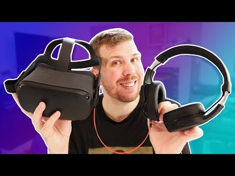 Best VR Headphones for Oculus Quest, Rift S, and Pimax 5K+! Skullcandy Crusher Wireless!