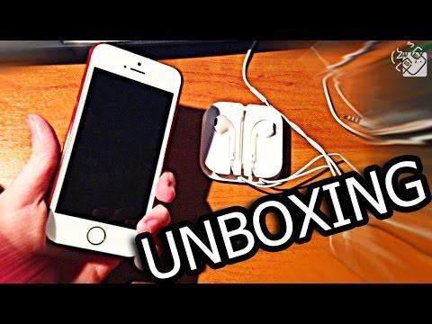 Распаковка iPhone 5S 64Gb! (ЧТО Я КУПИЛ 25.01.14)