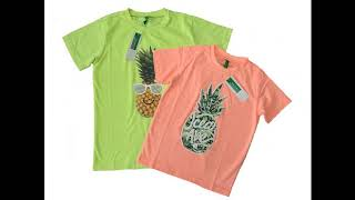 Wholesale Novelty Colorful Kids Tshirts By Closeoutexplosion.com
