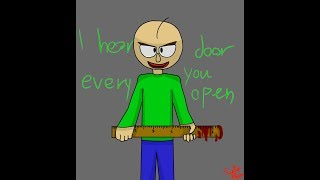 Baldi [Baldi's Basics In Education And Learning] - speedpaint