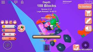 Roblox mining simulator hitting over 1 billion blocks mined