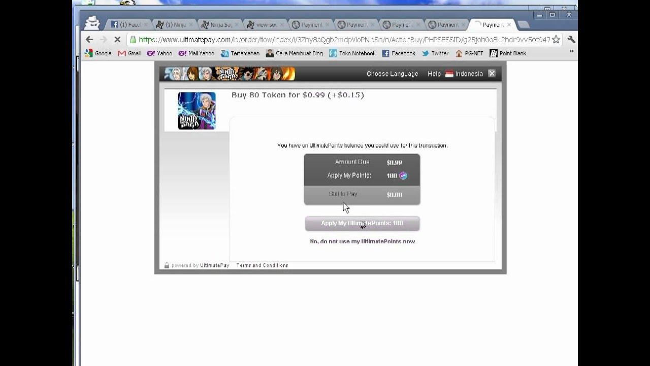 Cara Mendapatkan 400 token resmi (get free) - YouTube