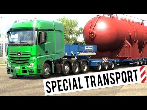 ets2 heavy cargo pack dlc 8x4 scania 47 ton transform. Black Bedroom Furniture Sets. Home Design Ideas