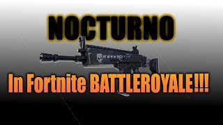 How to get the Nocturno in Fortnite Battle Royale (PC ONLY)