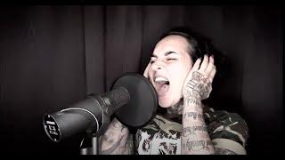 Suicide Silence w/ Tatiana Shmailyuk (Jinjer) Man In The Box ( cover )