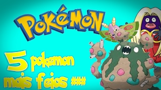 Top5- Pokemon mais feios do anime