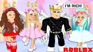 I WENT UNDERCOVER AS A RICH PRINCE TO SEE WHAT WOULD HAPPEN... Roblox Royale High Gold Digger