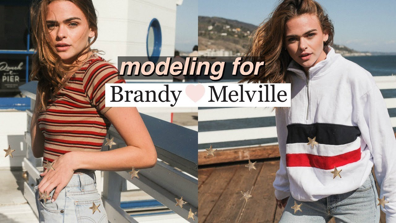 0f95bcac5b62 What It s Like to Model for Brandy Melville + HUGE clothing haul ...