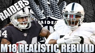 Realistic Rebuild of the Oakland Raiders! | Madden 18 Franchise! Khalil Mack is too OP!