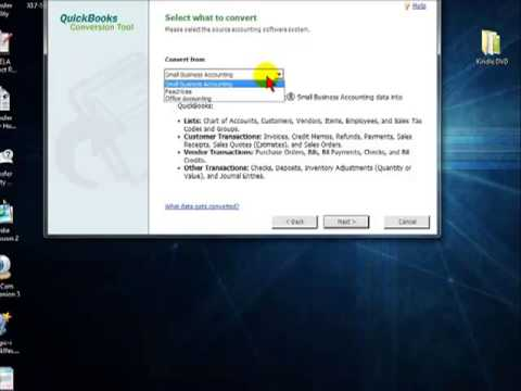 Converting from Other Software into Quickbooks - YouTube