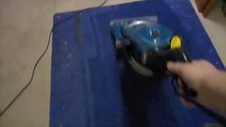 eureka boss 4870 takes on very nasty rug