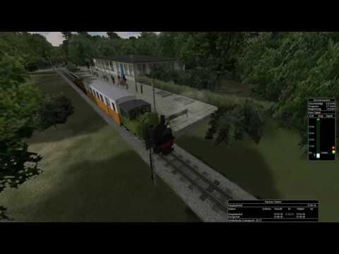 Open Rails - Parkeisenbahn Berlin Wuhlheide MSTS