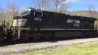 NS 965 6 Engine Power Move
