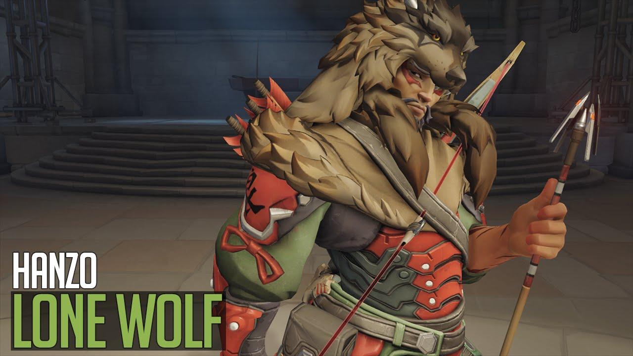 ceb715d49c Overwatch   Hanzo - Lone Wolf skin - YouTube