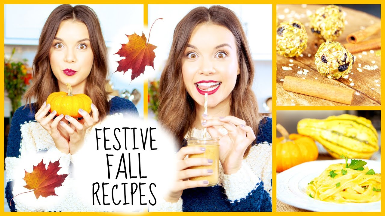 Festive fall recipes breakfast snack dinner ideas youtube youtube premium forumfinder Image collections