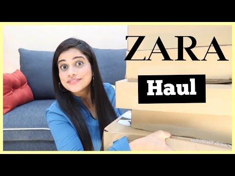 Zara Haul | Clothes, Accessories & A Lot Of PERFUMES !! | Sana K