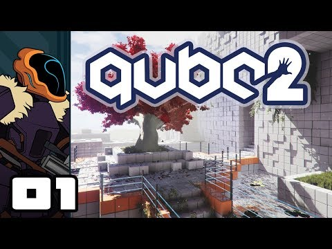 Let's Play Q.U.B.E. 2 - PC Gameplay Part 1 - Keep It Simple...