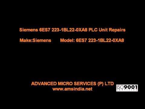 Siemens 6ES7 223-1BL22-0XA8 PLC Unit Repairs @ Advanced Micro Services Pvt.Ltd,Bangalore,India