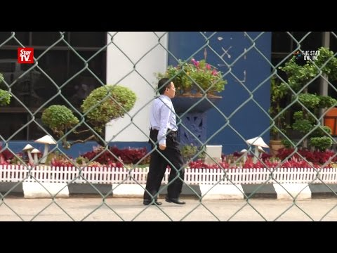 North Korean embassy staff spotted at Sepang police headquarters