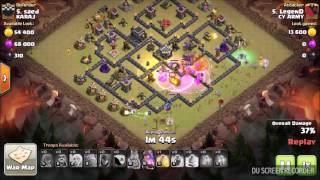 Th9 Witch 3 star Attack Strategy | Low Level Heroes| Clash of clans