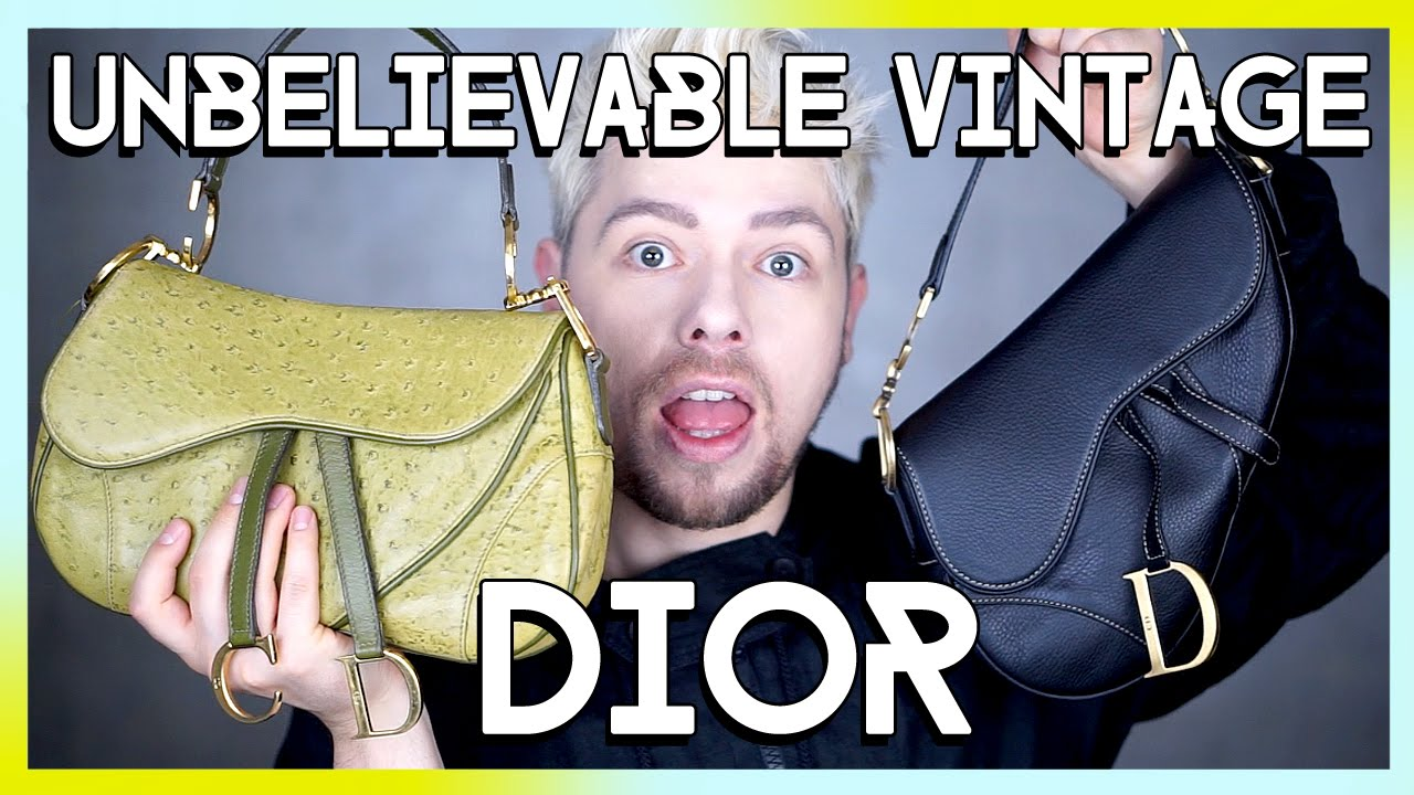 Christian Dior VINTAGE SADDLE BAG review