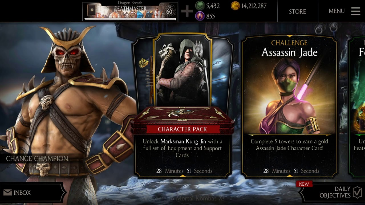 MKX QUEST MODE UPDATE 1 19 - EASY TRICKS TO GET KLASSIC REPTILE CHARACTER  IN QUEST MODE